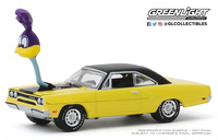 "Plymouth Road Runner with ""The loved Bird"" (1970) Greenlight 1/64"