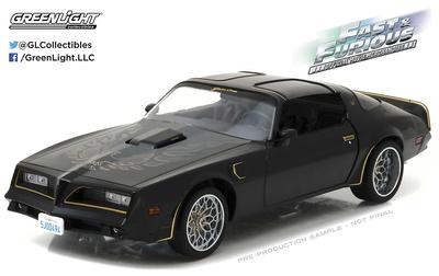 "Pontiac Firebird Trans Am Tego's ""Fast & Furious"" (1978) Greenlight 1/18"