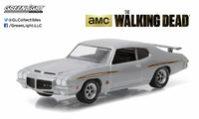 "Pontiac GTO ""The Walking Dead"" (1971) Greenlight 1/64"