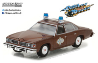 "Pontiac LeMans ""Sheriff Buford - Smokey and the Bandit"" (1977) Greenlight 1/64"