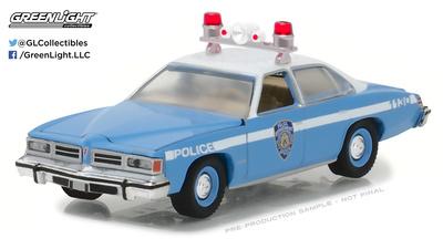 Pontiac Lemans Policía de la ciudad de Nueva York - NYPD (1976) Greenlight 1/64