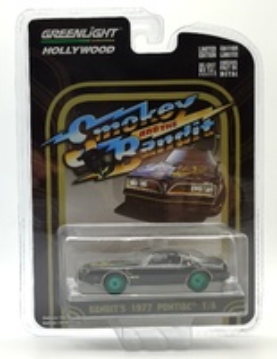"Pontiac Trans Am ""Smokey and the Bandit"" (1977) Green Machine 1/64"