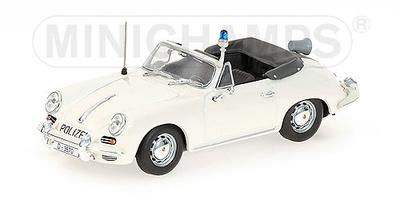 Porsche 356C Cabriolet Policia Dusseldorf (1965) Minichamps 1/43