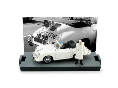 "Porsche 356C Cabriolet ""Policia Holandesa"" (1952) Brumm 1/43"