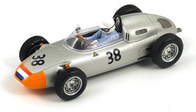 "Porsche 718 ""GP. Francia"" nº 38 Carel Godin de Beaufort (1962) Spark 1/43"