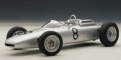 "Porsche 804 F1 ""GP. Alemania"" nº 8 Jo Bonnier (1962) Autoart 1/18"
