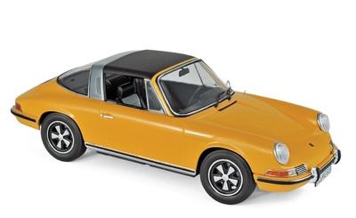 Porsche 911 E Targa (1969) Norev 1:18 (Falta techo)