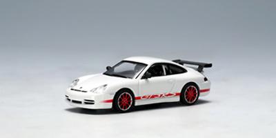 Porsche 911 GT3 RS llantas rojas (2004) Autoart 1/64