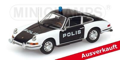 """Porsche 911 """"POLIS"""" (1970) Minichamps 1/43"""