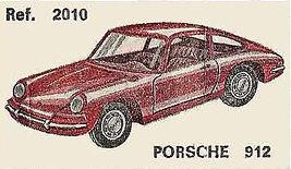 Porsche 912 Nacoral 1/43