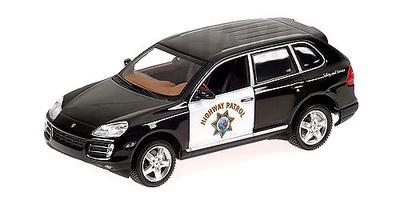 """Porsche Cayenne """"Highway Patrol"""" Minichamps 1/43"""