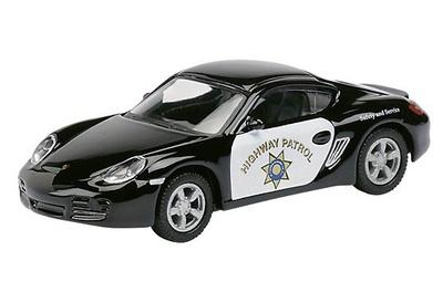 """Porsche Cayman """"Highway Patrol"""" Schuco 1/87"""