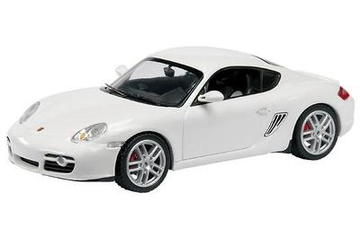 Porsche Cayman S Blanco Schuco 1/43