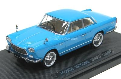 Prince (Nissan) Skyline Sport Coupé (1962) Ebbro 43705 1/43