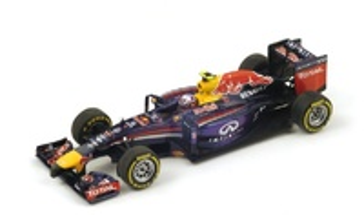 """Red Bull RB10 """"1º GP. Bélgica"""" nº 3 Daniel Ricciardo (2014) Spark 1:43"""