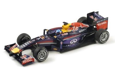 """Red Bull RB10 """"GP. Malasia"""" nº 1 Sebastian Vettel (2014) Spark 1:18"""
