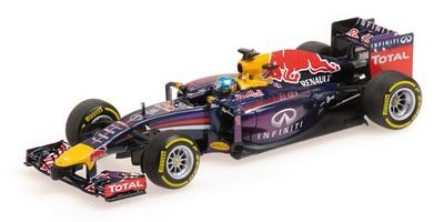 Red Bull RB10  nº 1 Sebastian Vettel (2014) Minichamps 410140001 1:43
