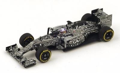 Red Bull RB11 Test Car Daniel Ricciardo (2015) Spark 1:43