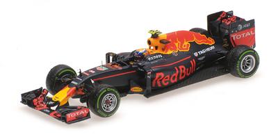 "Red Bull RB12 ""GP. Basil"" nº 33 Max Verstappen (2016) Minichamps 1:43"