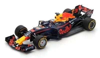 """Red Bull RB13 """"GP. España"""" nº 3 Daniel Ricciardo (2017) Spark 1:43"""