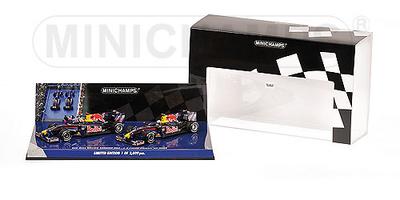 "Red Bull RB5 ""GP. China"" Set 2 u. Sebastian Vettel y Mark Webber (2009) Minichamps 1/43"