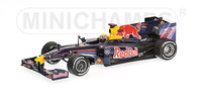 "Red Bull RB5 ""GP. China"" nº 14 Mark Webber (2009) Minichamps 1/43"