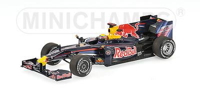 Red Bull RB5 nº 14 Mark Webber (2009) Minichamps 1/43