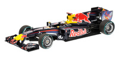 "Red Bull RB6 ""GP. Abu Dhabi"" nº 5 Sebastian Vettel (2010) Minichamps 1/18"