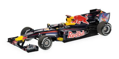 Red Bull RB6 nº 5 Sebastian Vettel (2010) Minichamps 1/18