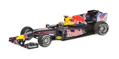 Red Bull RB6 nº 5 Sebastian Vettel (2010) Minichamps 1/43
