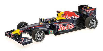 """Red Bull RB7 """"GP. Japón"""" Sebastian Vettel (2011) Minichamps 1:18"""
