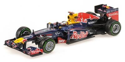"""Red Bull RB8 """"GP. Brasil"""" nº 1 Sebastian Vettel  (2012) Minichamps 1:43"""