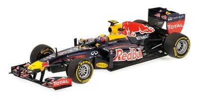 """Red Bull RB8 """"Showcar"""" nº 2 Mark Webber (2012) Minichamps 1/43"""