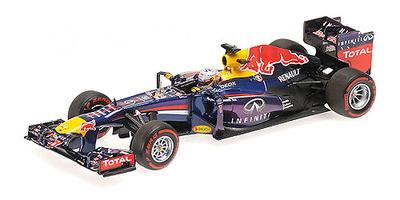 """Red Bull RB9 """"1º GP. Brasil"""" nº 1 Sebastian Vettel (2013) Minichamps 1:43"""