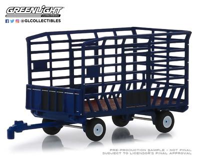 Remolque para tractor Greenlight 1/64