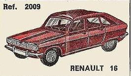Renault 16 Nacoral 1/43