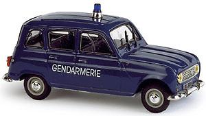 Renault 4L Gendarmeria (1968) Norev 1/43 (descatalogado)