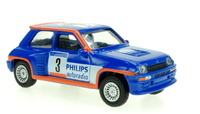 Renault 5 Turbo nº 3 Rally Tour de Corse (1985) Norev 1/64 (1/54)
