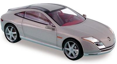 """Renault Fluence Concept Car """"Salón de Paris"""" (2004) Norev 1/43"""