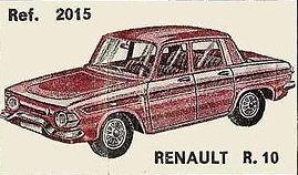 Renault R10 Nacoral 1/43