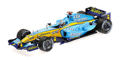 Renault R25 nº 5  Fernando Alonso (2005) Minichamps 1/43