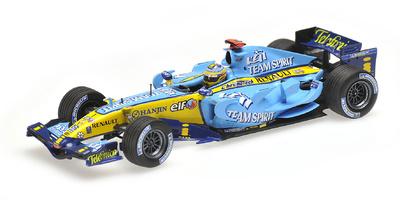 Renault R26 nº 1 Fernando Alonso (2006) Minichamps 1/43