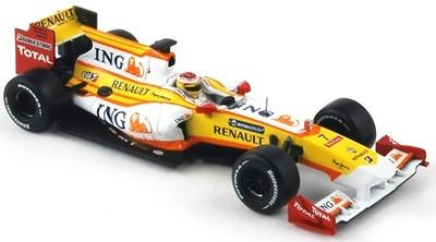 Renault R29 nº 7 Fernando Alonso (2009) Norev 1/43