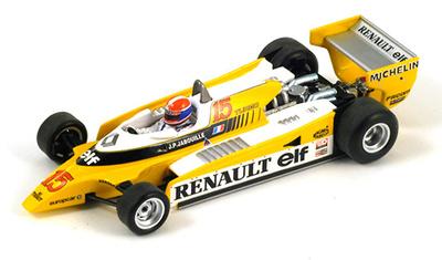 """Renault RE20 """"1º GP Austria"""" nº 15 Jean Pierre Jabouille (1980) Spark 1/43"""