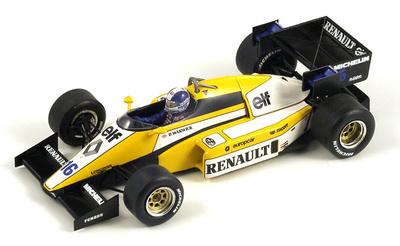 """Renault RE50 """"GP. Francia"""" nº 16 Derek Warwick (1984) Spark 1/43"""