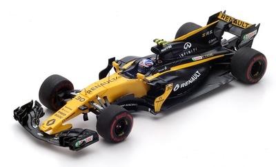 "Renault RS17 ""GP. Barein"" nº 30 Jolyon Palmer (2017) Spark 1:43"