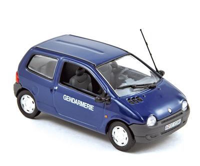 """Renault Twingo """"Gendarmeria"""" (2000) Norev 1/43"""