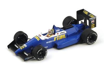 "Rial ARC1 ""GP. Bélgica"" nº 22 Andrea De Cesaris (1988) Spark 1:43"
