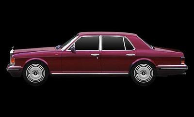 Rolls Royce Silver Spirit (1980) True Scale 1/43
