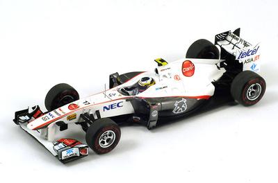 "Sauber C30 ""GP. Canadá"" nº 17 Pedro De la Rosa (2011) Spark 1/43"